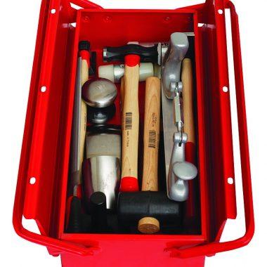 Trusa cu unelte profesionale pentru tinichigerie TST | MOB&IUS