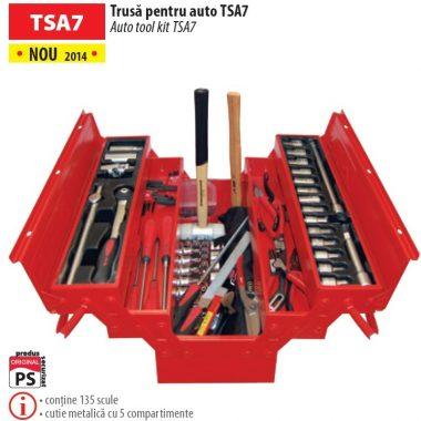 Trusa de unelte profesionale pentru mecanici auto TSA7 | MOB&IUS