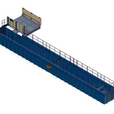 Instalatie spalat roti, stationara – Kit Plus 400B-100S | MobyDick