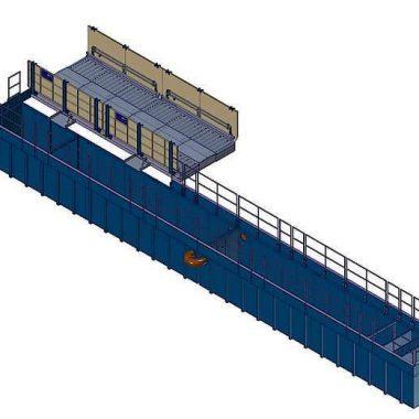 Instalatie spalat roti, stationara – Kit Plus 800B-100S | MobyDick