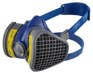 Semimasca protectie impotriva gazelor, prafului si vaporilor   Elipse AE1   GVS