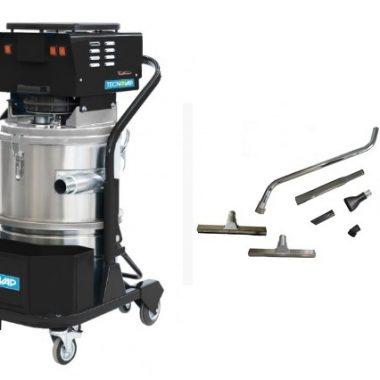 Aspirator industrial umed-uscat | vac industrial 2/3 motors | TecnoVap