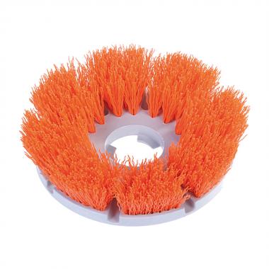 Perie cu peri portocalii pentru monodisc | MotorScrubber