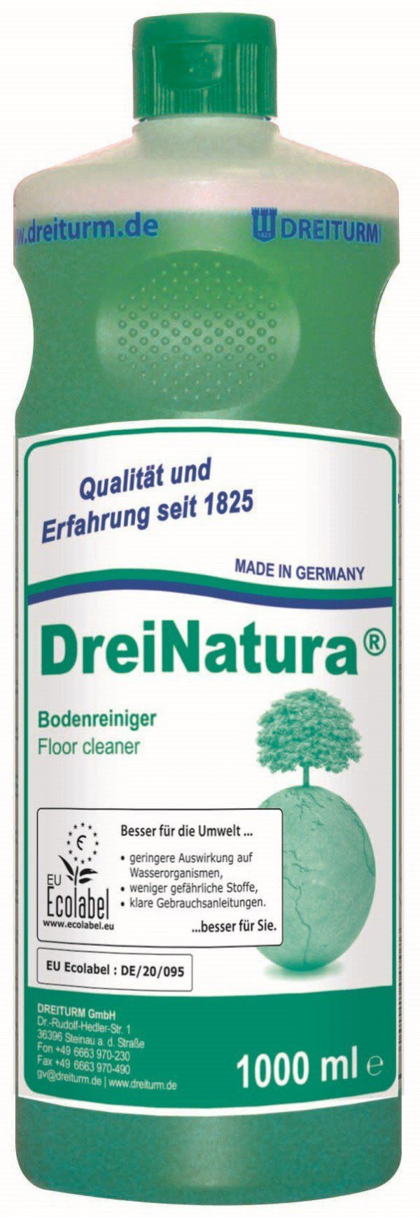 Detergent ecologic pentru pardoseli