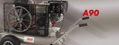 Motocompresor aer, 500L/min – 10 bar | IBIX A90