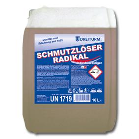 Detergent de curatare pntru uz industrial | Schmutzloser Radikal | Dreiturm