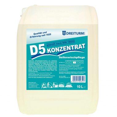 Detergent antialunecare pe baza de sapun   D5 Konzentrat   Dreiturm