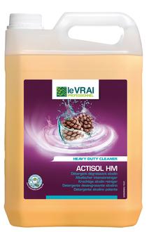 Detergent alcalin pentru pardoseli 5L | Actisol HM | Action Pin