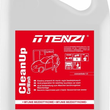 Detergent acid pentru spalarea automata a masinilor | CleanUp CarWash | Tenzi