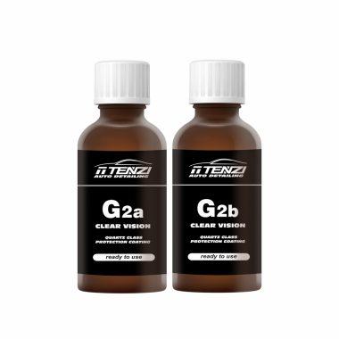 Solutie de protectie cuart in doi pasi pentru suprafete din sticla | G2 (A+B) Clear Version | Tenzi