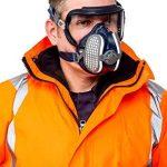 Semimasca protectie impotriva gazelor, prafului si vaporilor   Elipse Integra P3RD   GVS