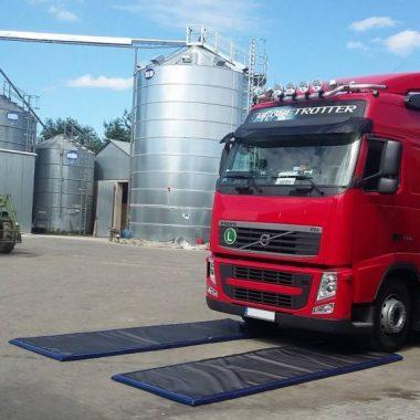 Covoare dezinfectante pentru rotile masinilor si camioanelor (Set 2 buc.) – DeWitte