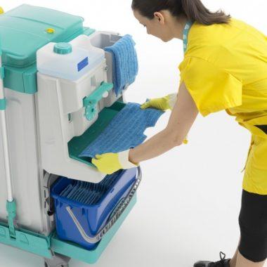 Sistem de dozare mop – Tecno Trolley System