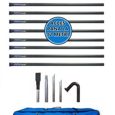 Kit pentru aspirare profesionala la distanta a jgheaburilor – SpinAclean