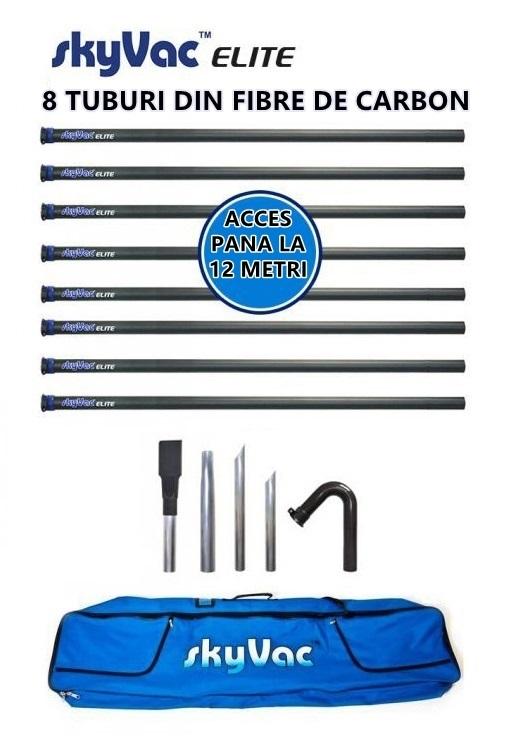 Kit pentru aspirare profesionala a jgheaburilor