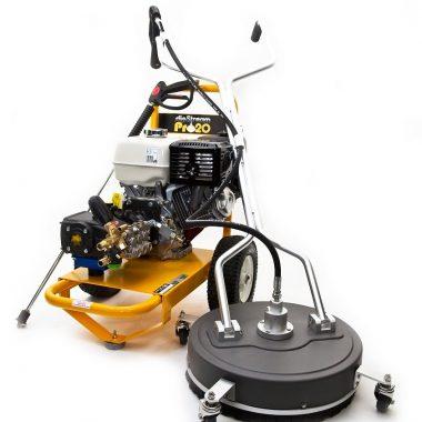Aparat de spalat cu inalta presiune – Honda Slip Stream Pro 20 si curatitor suprafete de 20 inch – SpinAclean