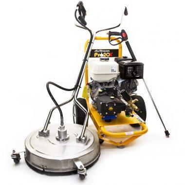 Aparat de spalat cu inalta presiune – Honda Slip Stream Pro 20 X si curatitor suprafete de 22 inch – SpinAclean