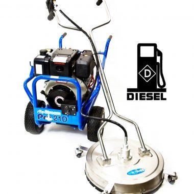 Aparat de spalat cu inalta presiune – Slip Stream Pro 21D Diesel si curatitor suprafete de 22 inch – SpinAclean