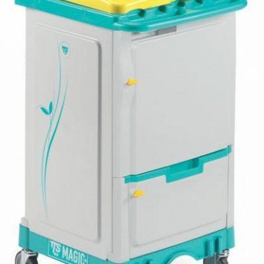 Carucior pentru menaj profesional modular Mini Magic 010V – Tecno Trolley System