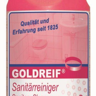 Detergent sanitar   Goldreif Sanitarreiniger   Dreiturm