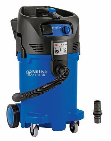 5690 aspirator monofazat pentru medii umede si uscate attix 50 pc nilfisk Aspirator monofazat pentru medii umede si uscate ATTIX 50 PC | Nilfisk - Unilift