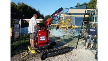 Sistem de manevrat placi din sticla Robby 900 | TGT