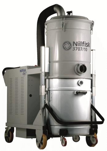 Aspirator industrial trifazat seria 3707-3907 | Nilfisk