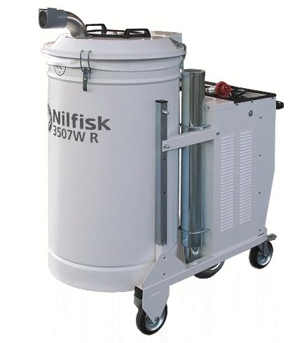 Aspirator industrial pentru ambalaje si bavuri 3507WR | Nilfisk