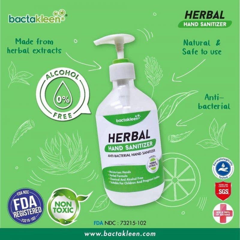 619c3e1a05c9b44432688586ebbdd93f Solutie dezinfectanta pentru maini din extracte naturale 50 ml | Herbal Hand Sanitizer | BactaKleen - Unilift Solutie dezinfectanta pentru maini