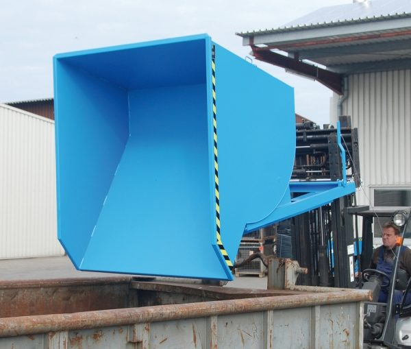 6355 container basculant type bkm 0 3 m3 2 m3 bauer bauer sudlohn Container basculant TYPE BKM 0.3 m3 - 2 m3   Bauer - Unilift