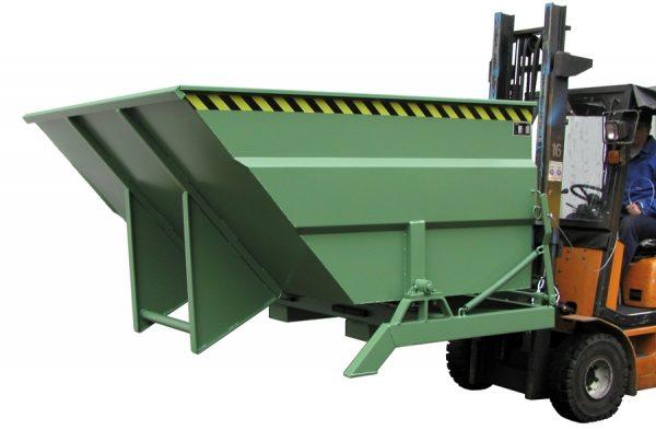 6384 container basculant cu pivot lateral type bkc 2 m3 5 m3 bauer bauer sudlohn Container cu sistem hidraulic de basculare TYPE BKC 2 m3 - 5 m3 | Bauer - Unilift