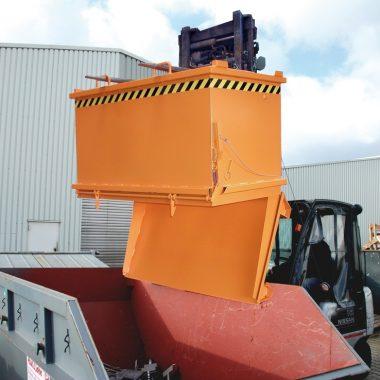 Container stivuitor/macara cu trapa inferioara | TYPE SB | Bauer