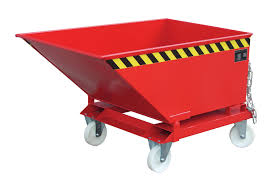 6431 container basculant pentru deseuri industriale type kk kn 250 l 1000 l bauer bauer sudlohn Container basculant pentru deseuri industriale TYPE KK / KN 250 l - 1000 l | Bauer - Unilift