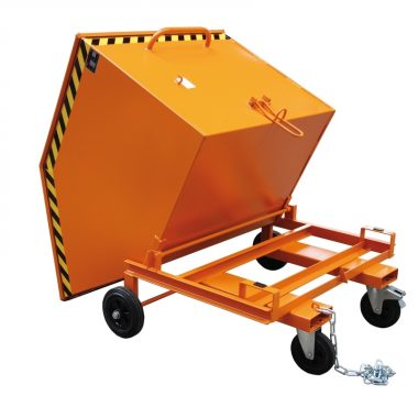Container basculant pentru materiale vrac | TYPE KW 250 l – 1000 l | Bauer