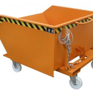 Container basculant cu filtru si robinet pentru drenaj TYPE SKS 400 l – 700 l | Bauer