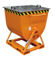 Container basculant cu descarcare laterala TYPE LK 300 l – 600 l | Bauer