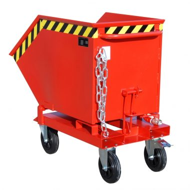 Container basculant pentru materiale din metal TYPE SKK 250 l – 1000 l | Bauer