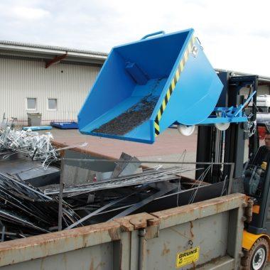 Container basculant cu sistem special de drenaj TYPE SKM | Bauer