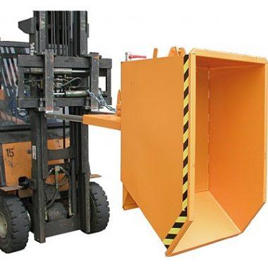 Container basculant cu sistem de drenaj pentru lichide TYPE SGU 0.3 m3 – 1.5 m3 | Bauer