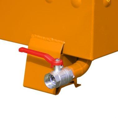 Container basculant constructie anti-deformare TYPE BSS-N 0.55 m3 – 0.9 m3 | Bauer
