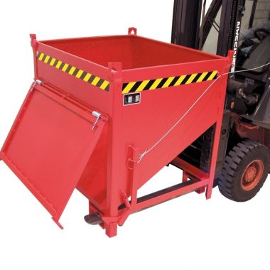Container basculant cu trapa frontala TYPE SGK 0.5 m3 – 1 m3 | Bauer