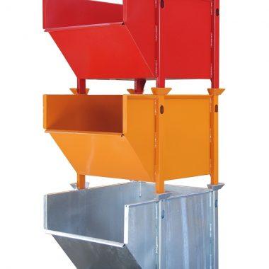 Container basculant pentru beton si materiale de constructie TYPE BBM 5 m3| Bauer