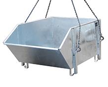 Container basculant pentru amestecuri si materiale de constructie TYPE BBG 1 m3 | Bauer