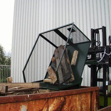 Container basculant pentru materiale usoare TYPE GU-G / BSK-G / SB-G 1 m3 – 1.1 m3 | Bauer