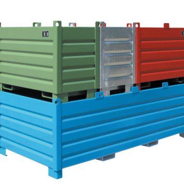 Sistem containere de colectare si transportare TYPE SBS 0.5 m3 – 2 m3 | Bauer