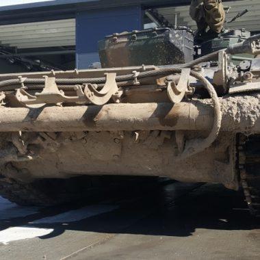 Instalatie de spalat vehicule militare – MobyDick