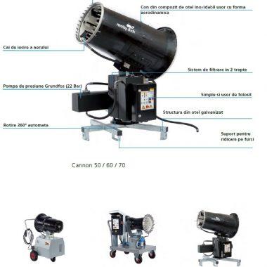 Tun de control al prafului Cannon 10 – MobyDick
