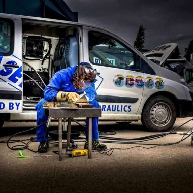 Aparat de sudura si generator electric actionat hidraulic HWG | Dynaset