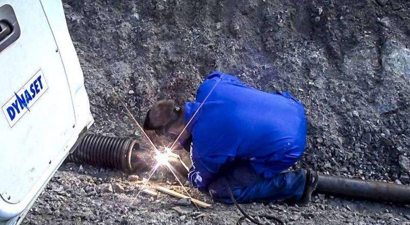 8268 generator actionat hidraulic pentru aparate de sudura hwg dynaset Aparat de sudura actionat hidraulic | HWG 180 | Dynaset - Unilift Aparat de sudura