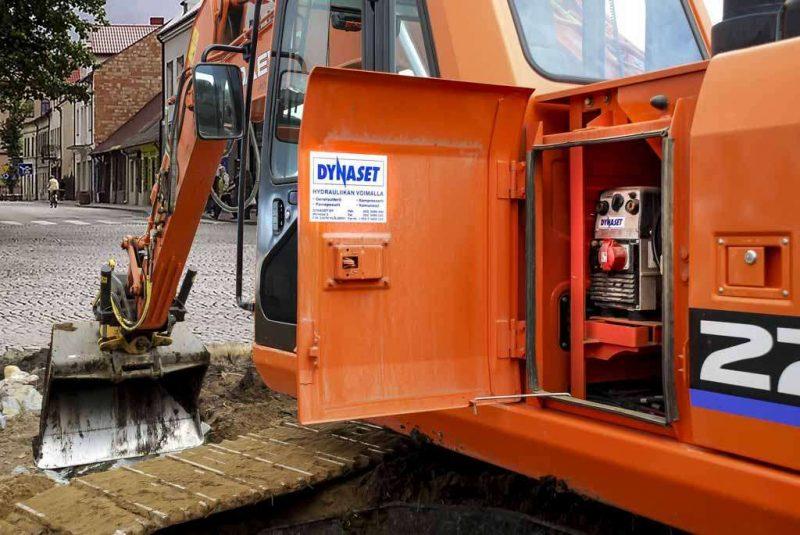 8274 generator actionat hidraulic pentru aparate de sudura hwg dynaset Aparat de sudura actionat hidraulic | HWG 180 | Dynaset - Unilift Aparat de sudura